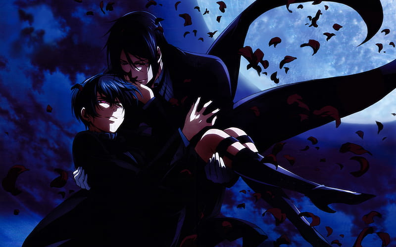 Kuroshitsuji Ciel Phantomhive Vincent Phantomhive Japanese Anime Manga Male Characters Hd Wallpaper Peakpx