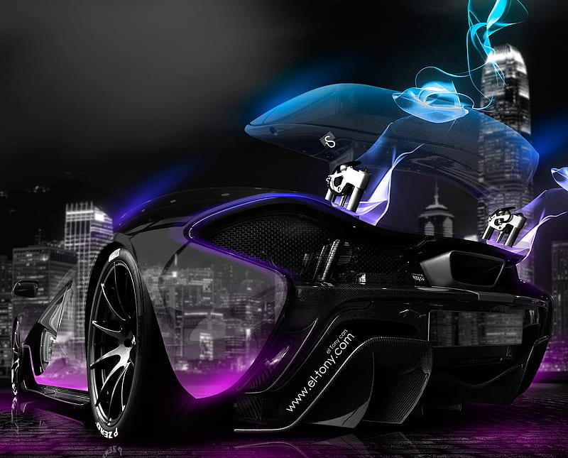 Best 53 raceroom racing experience wallpaper on hipwallpaper. Mclaren P1 Black Blue Purple Hd Wallpaper Peakpx
