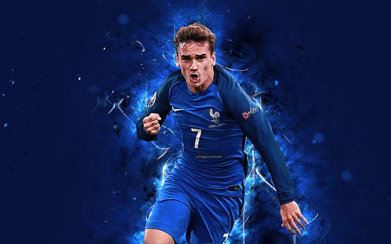 Could you recognize them on sight? Antoine Griezmann Abstract Art France National Team Fan Art Griezmann Soccer Hd Wallpaper Peakpx