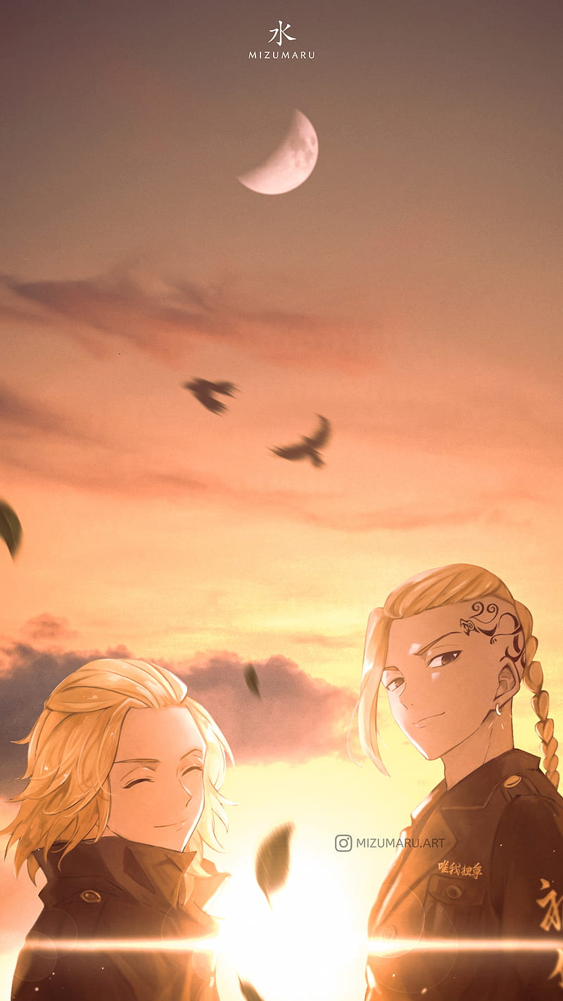 Mikey And Draken Cloud Sky Tokyo Tokyo Revengers Manji Gang Anime Aesthetic Hd Mobile Wallpaper Peakpx