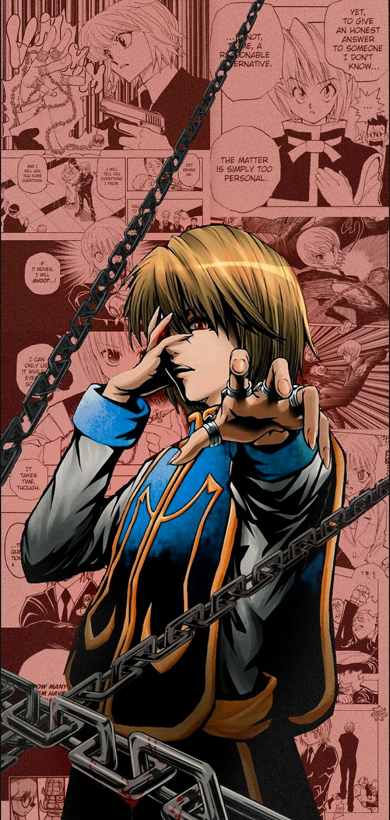 Kurapika Aesthetic Aesthetic Anime Hunter X Hunter Hunterxhunter Manga Hd Mobile Wallpaper Peakpx