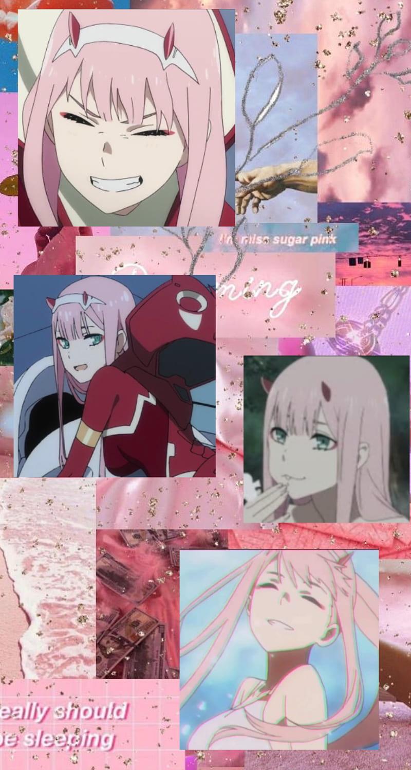 Zero Two Aesthetic Anime Darling In The Franxx Zero Two Hd Mobile Wallpaper Peakpx