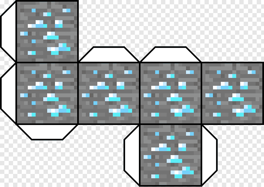 Minecraft Paper Model Video Game Paper Craft Png Pngwave