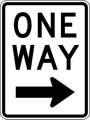 Traffic sign Direction, position, or indication sign