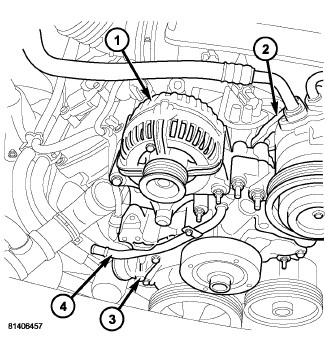2004 Dodge Durango Belt Routing Diagram, 2004, Free Engine