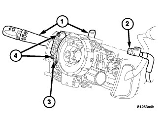 o6 2500 dodge ram turn signal at times ,use left signal but