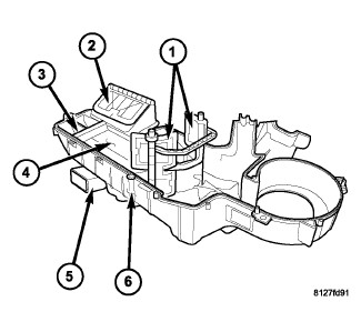 Chrysler Aspen Limited: how to replace the front evaporator
