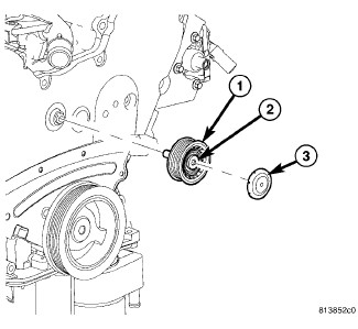 idler pulley...