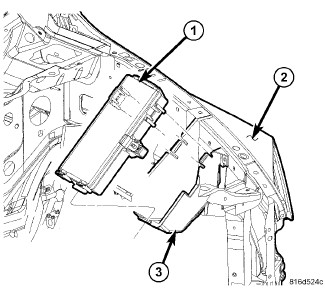 Dodge RAM 1500 4x4: where is the fuse location for the horn