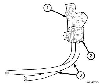 dpf from vehicle may have switched pressure lines to sensor