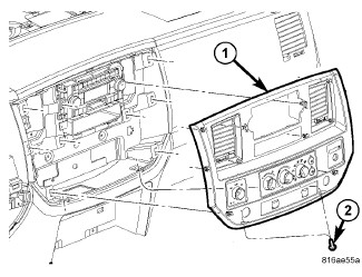 2006 Ram 1500: The air conditioning selector switch..vent