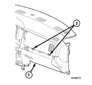 Service manual [Passenger Side Airbag Removal On A 2012