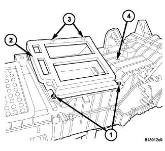 Dodge 2006 Ram 1500. Heater will not change from dash to floor