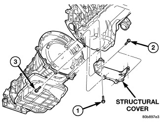 Service manual [Oil Pan Removal 1998 Dodge Dakota