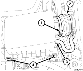 2007 Jeep Grand Cherokee: I remove the air/engine cover..5