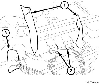 procedure for removing drivers door inner panel, glass and