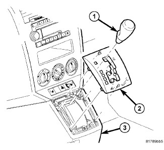 Service manual [Remove 2008 Maybach 62 Floor Shift Lever