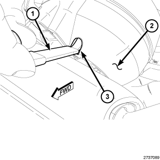 Service manual [2008 Jeep Compass Airbag Cover Removal