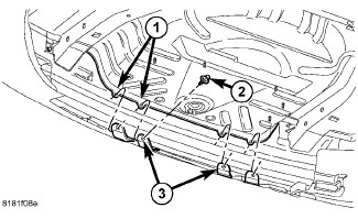 Service manual [2008 Jeep Compass Transfer Case Removel