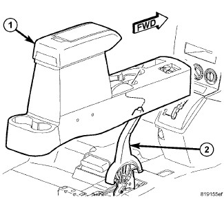 Service manual [How To Repair Center Console 2009 Jeep