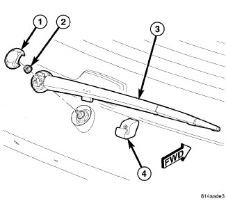 Service manual [Remove Wiper Arm 2007 Jeep Commander