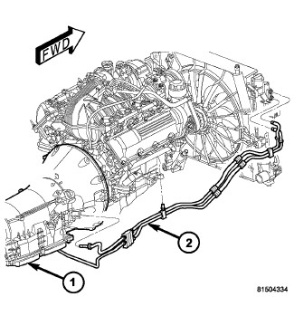 Service manual [Transmission Cooler Line 2006 Maserati