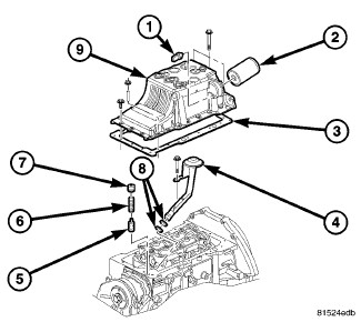Service manual [Oil Pump Removal Procedure For A 2004