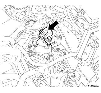 2006 chrysler sebring: you have to tilt the engine..spark
