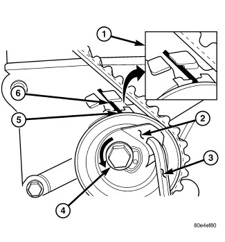 need a timing belt diagram for 2006 Jeep Wrangler 4 cyl.