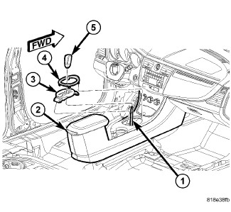 Service manual [Removing Center Console In A 2006 Chrysler