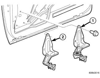 2006 dodge grand caravan: sliding doors..the passanger side is