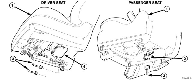 2007 Chrysler Pacifica: to remove a drivers seat