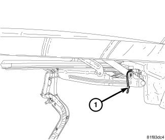 Chrysler sebring: anyone tell..convertible top..latched