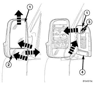 How to change indicator bulb on mercedes sprinter door mirror