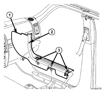 Service manual [2008 Dodge Nitro Rear Hatch Trim Panel