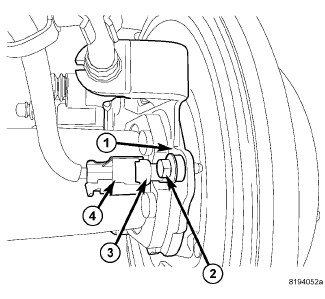 jeep liberty: wheel sensor..circuit under the hood by the