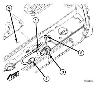Impact Sensor Location Cadillac, Impact, Free Engine Image