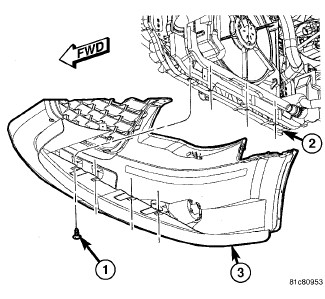 Dodge Caliber Front Bumper Diagram, Dodge, Free Engine