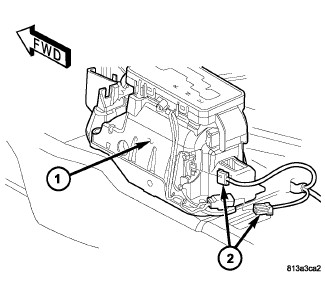 Service manual [2006 Chrysler 300 Dash Removal Diagram