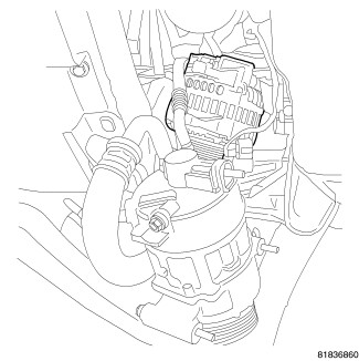 HowToRepairGuide.com: 2007 Dodge Caliber Alternator removal?