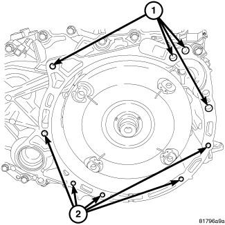 Service manual [Removing Transmission 2008 Jeep Patriot