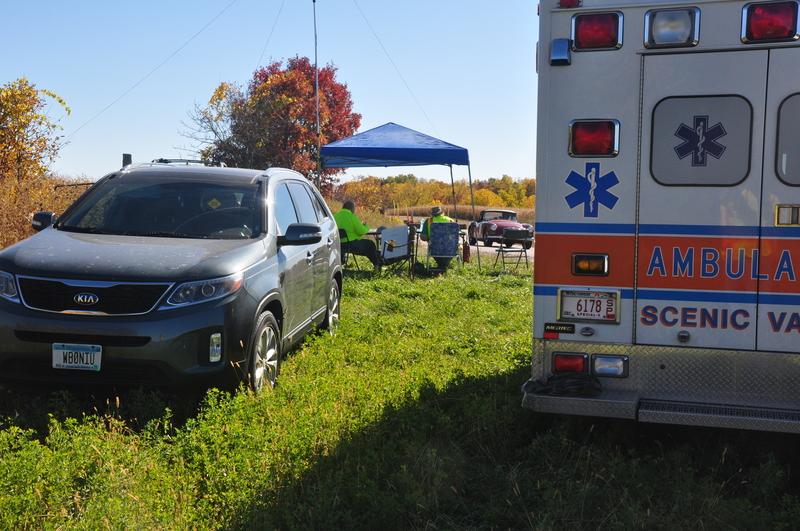 Ambulance-scene