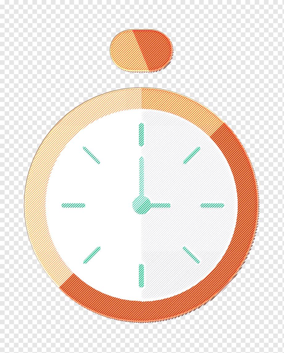 Ikon Jam Png : Bisnis, Stopwatch, Waktu,, Hijau,, Oranye,, Pirus,, Lingkaran,, Aksesori, Rumah,, Bisnis,, PNGWing