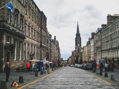 Edynburg zwiedzanie miasta