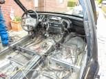 W124 Limousine Sedan Schlachtung Rost Gammel 030