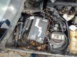 W124 Limousine Sedan Schlachtung Rost Gammel 033
