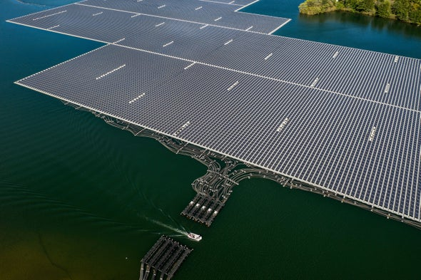 Skimming Panels Buoy Predictions of Global Solar Growth Spurt