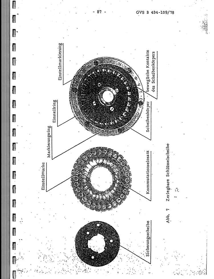 Russian M-125-MN and M-125-3MN Cipher Machine German