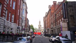 Holy Trinity Marylebone - Bolsover St - Before trees arrive