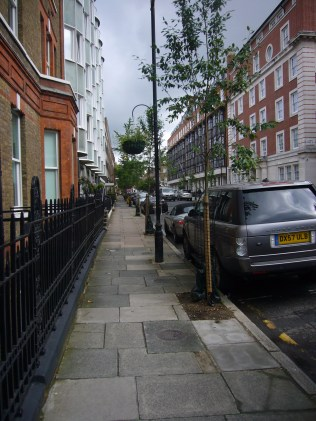 Beamont Street now with trees